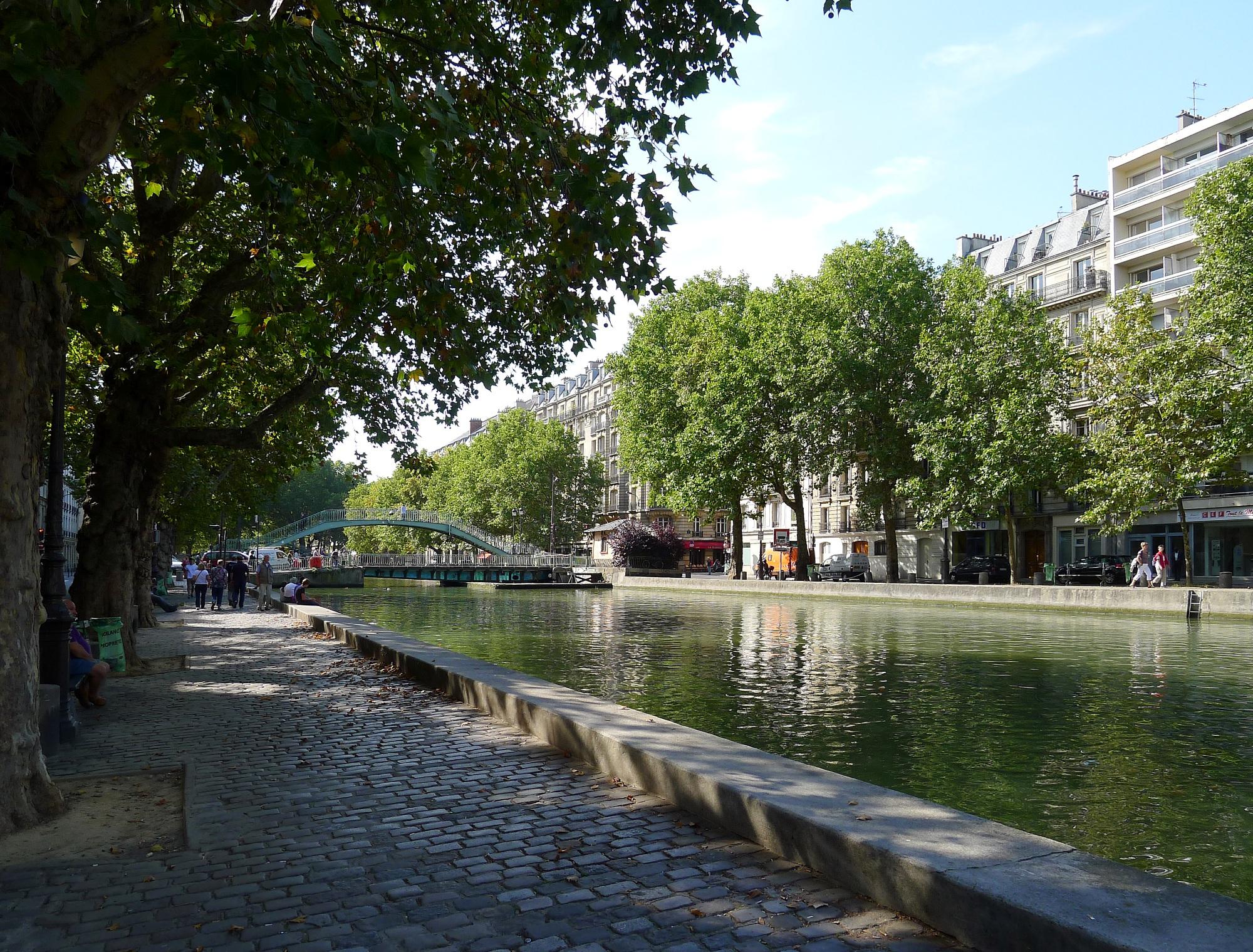 Fichier:P1040722 Paris X canal Saint-Martin quai de Jemmapes ...