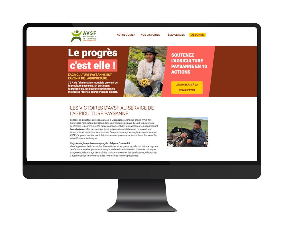 Agronomes et Vétérinaires Sans Frontières / Le progrès c'est ...