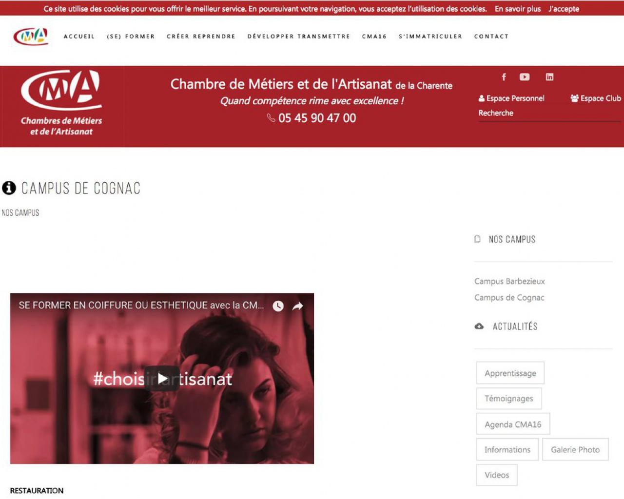 Les CFA de la Nouvelle Aquitaine   Annuaire   CRMA ...