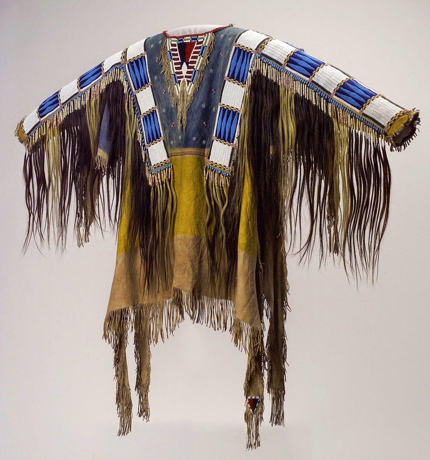 Man's Shirt.   Vêtement amérindien, Artisanat amérindien et ...
