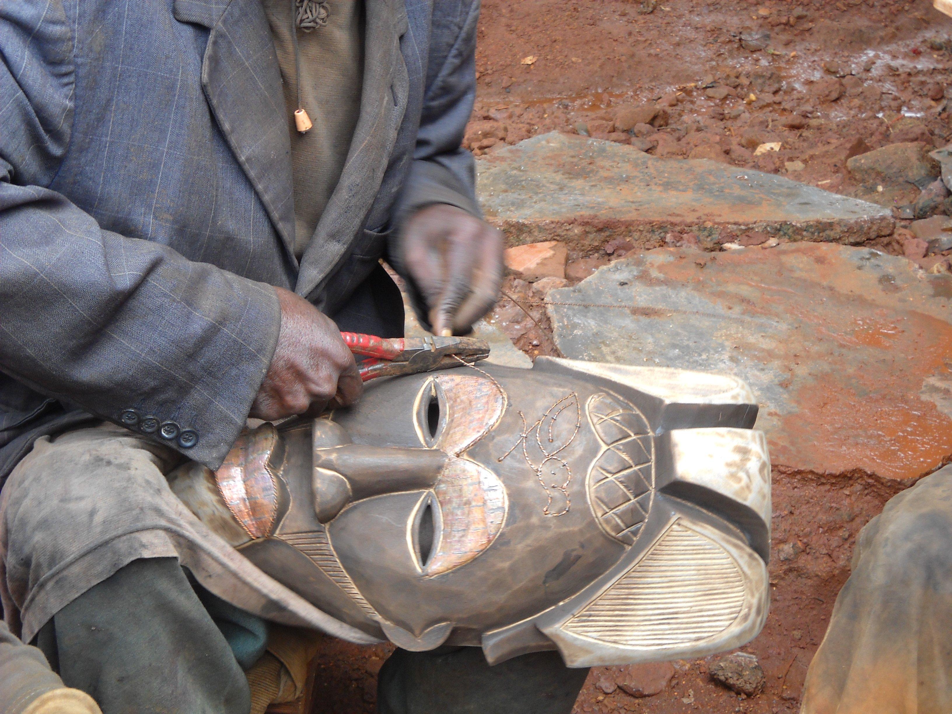 Voyage au Cameroun   artisanat africain