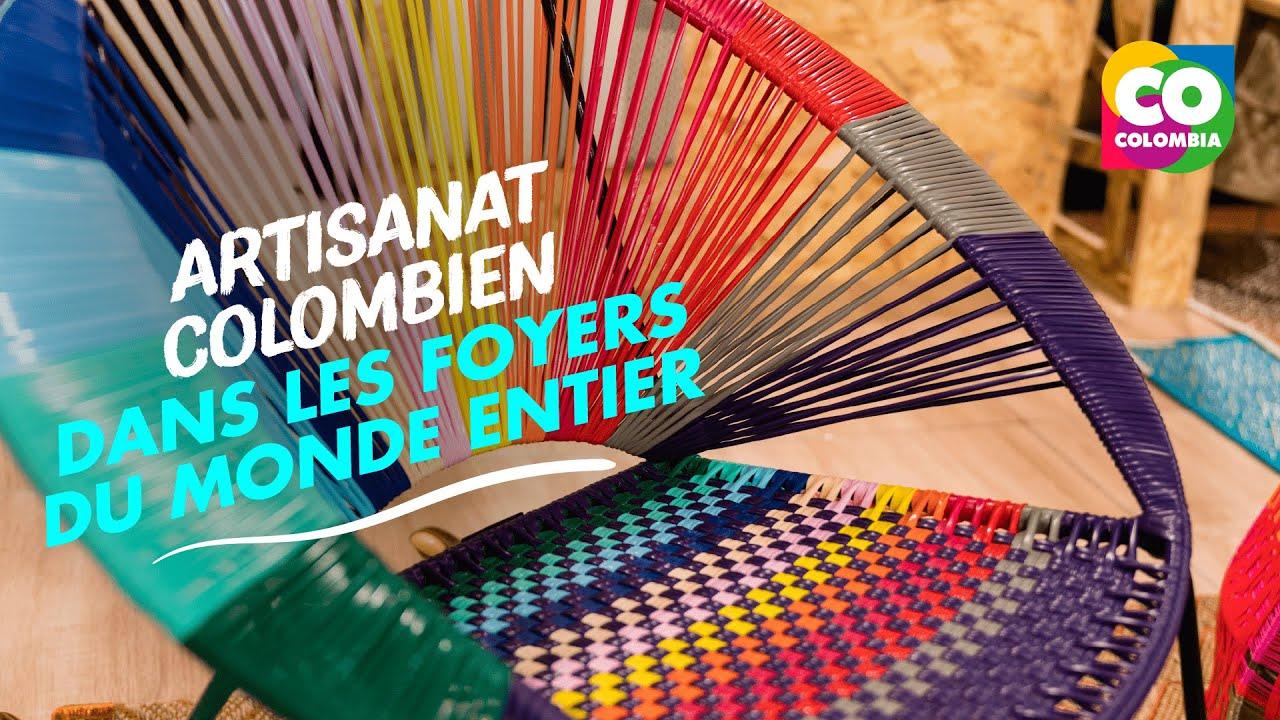 Découvrez l'artisanat colombien en France.
