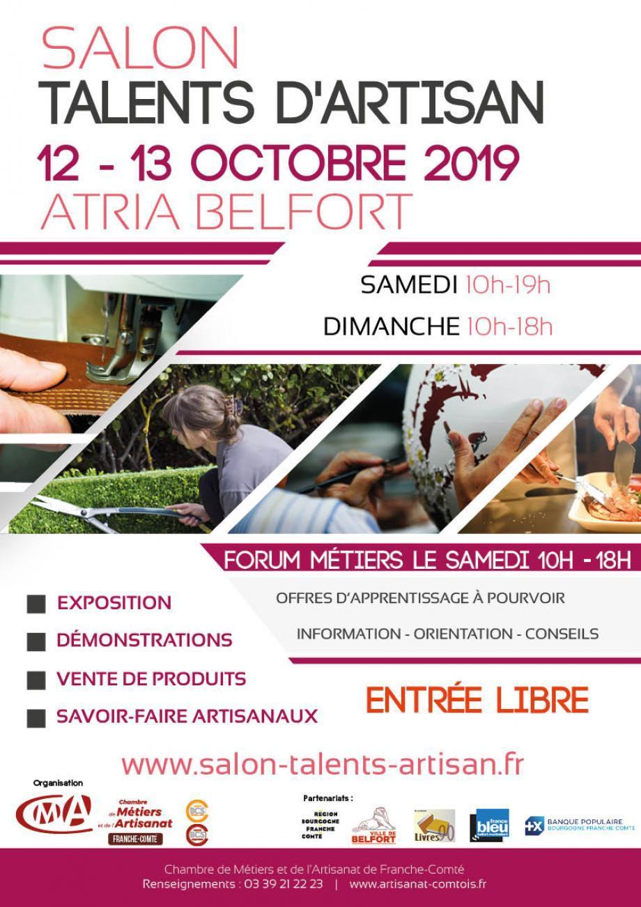 SALON TALENTS D'ARTISAN à Belfort - Atria Novotel (Foires ...