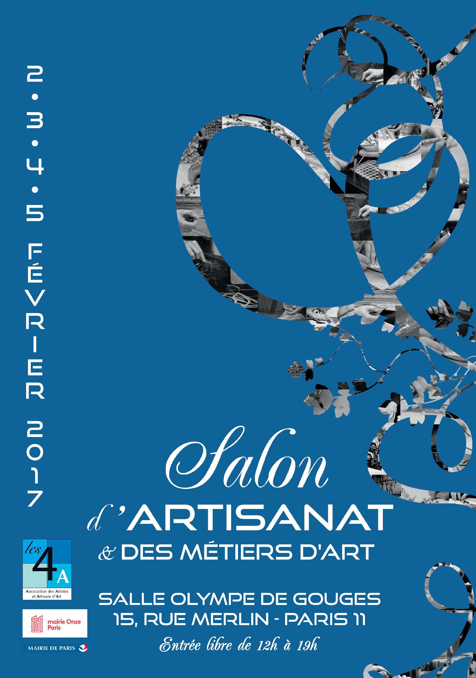 Salon d'Artisanat et des Métiers d'Art, Paris 11e 2017 - Les ...