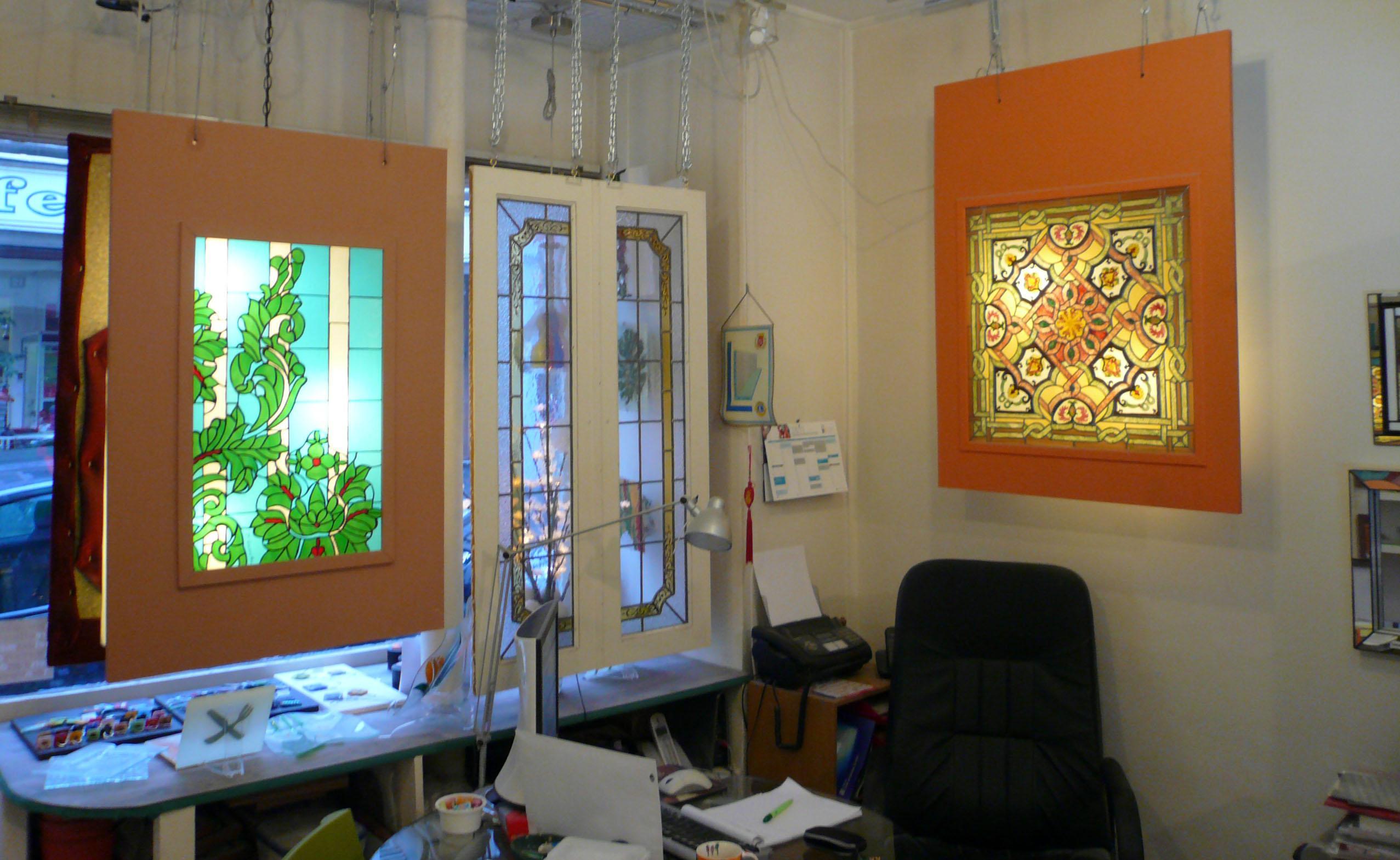 Initiation à l'art du vitrail lors d'un stage d'une journée ...