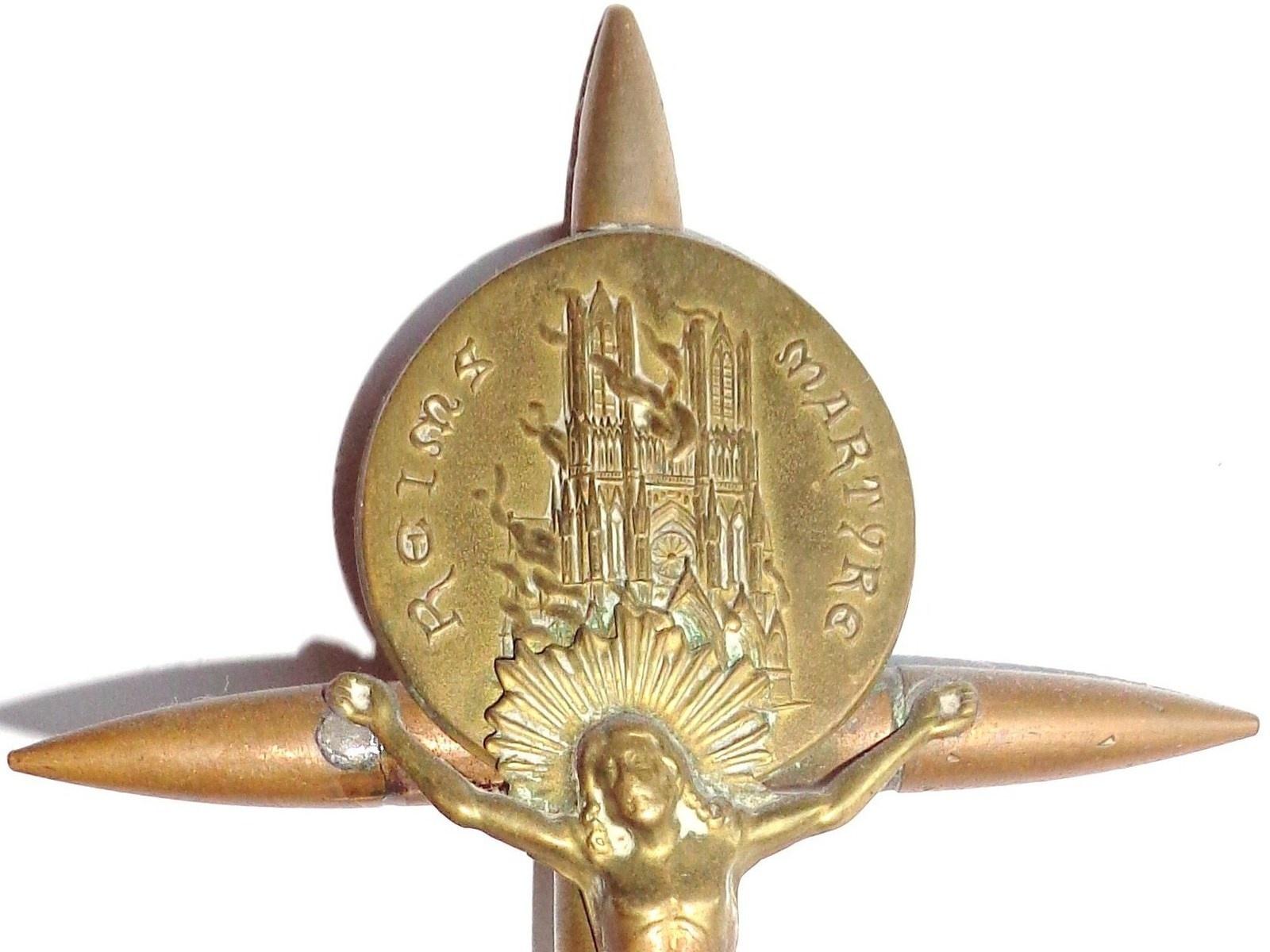 Artisanat de tranchée : Reims martyre - Reims 14-18
