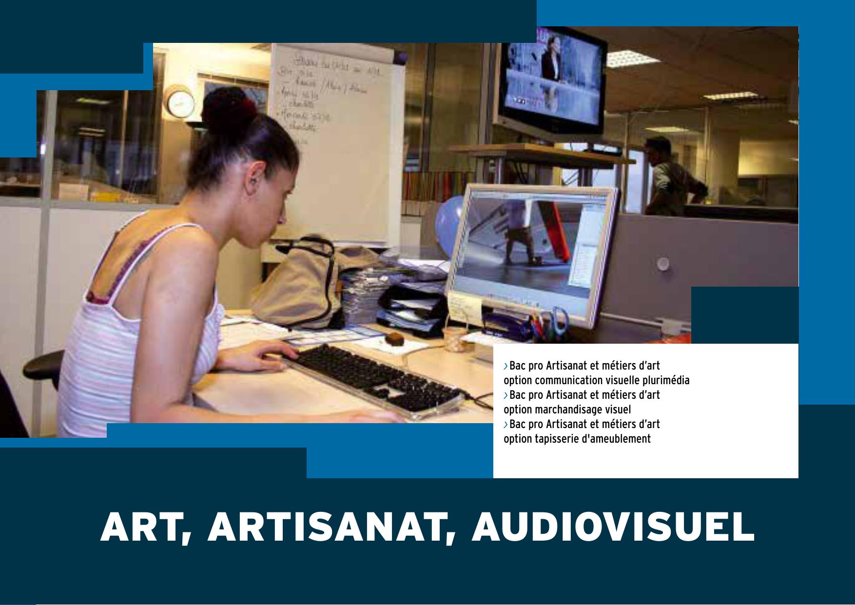 SOMMAIRE Bac pro Artisanat et métiers d'art option ...
