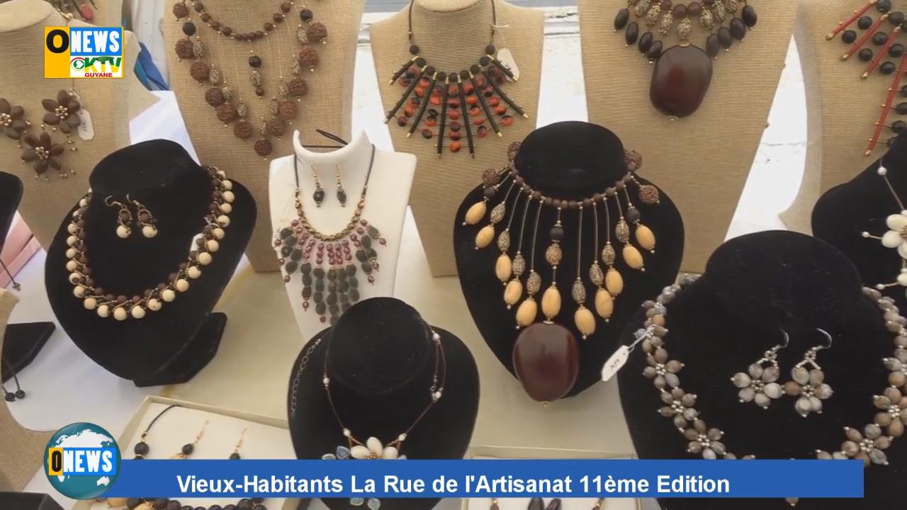 Vidéo] GUADELOUPE. 11ème édition rue de l Artisanat - Outremers News