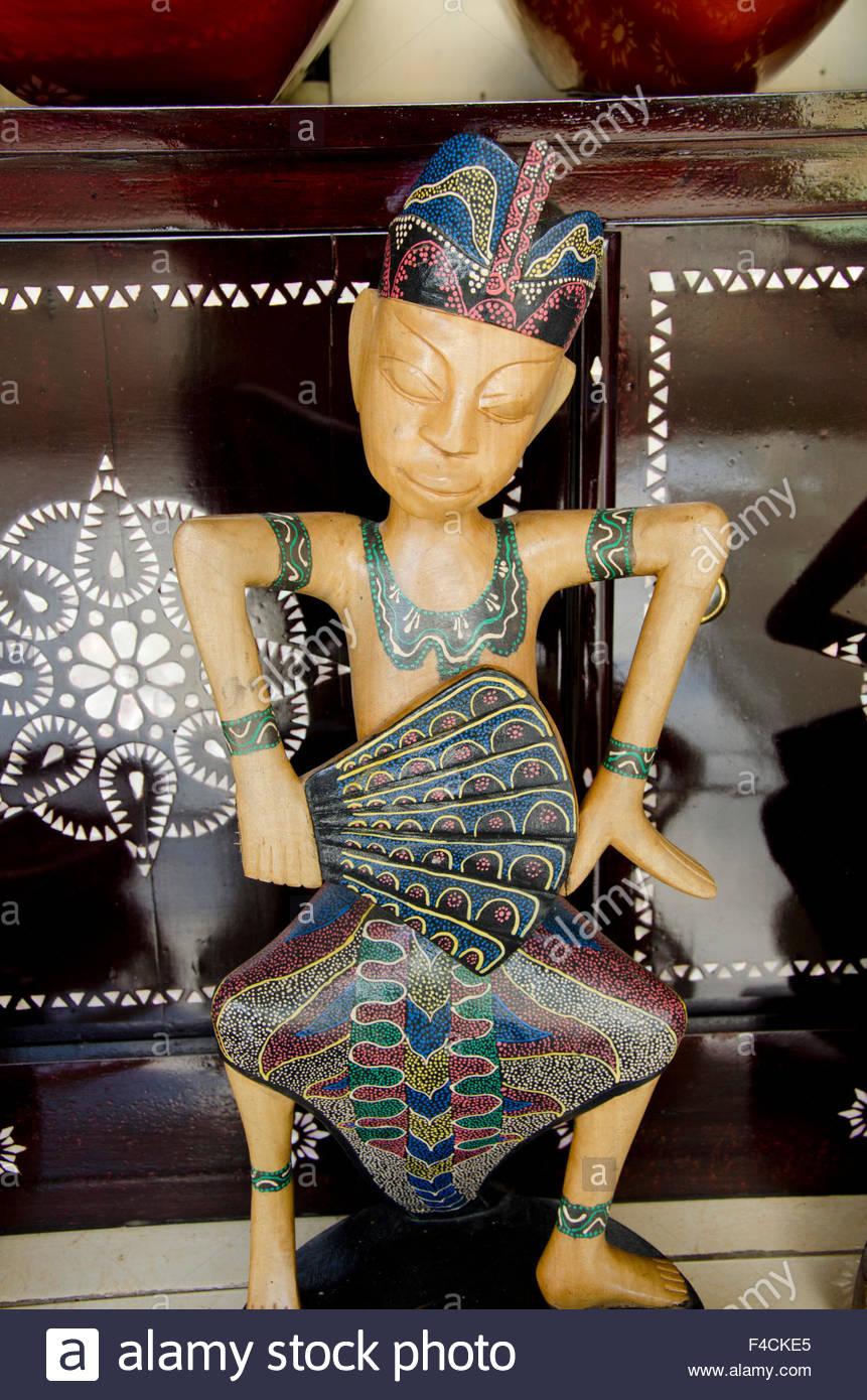 L'Indonésie, Gunnungsari. Artisanat populaire village de ...