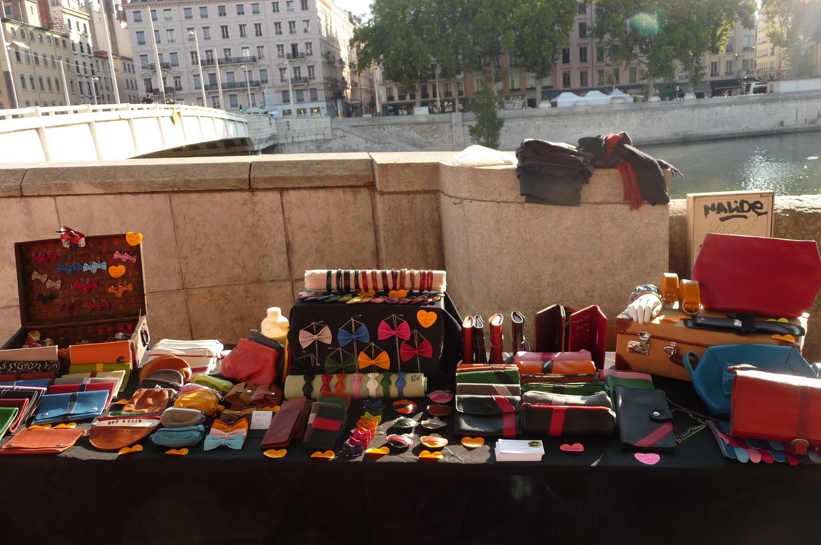 Dur à cuir: marché de l'artisanat à Lyon tous les dimanches !!! PHOTOS !