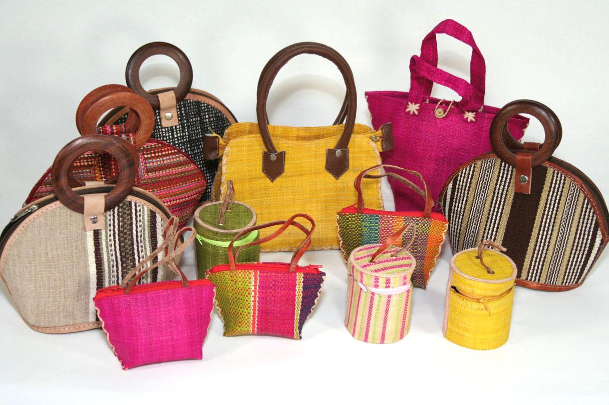 Paniers et sacs - Hautex Artisanat de Madagascar Vente en gros et ...