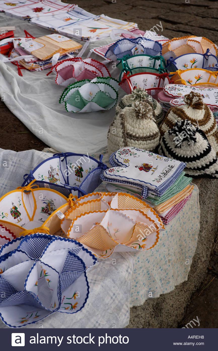 L'artisanat local de Madère Banque D'Images, Photo Stock ...