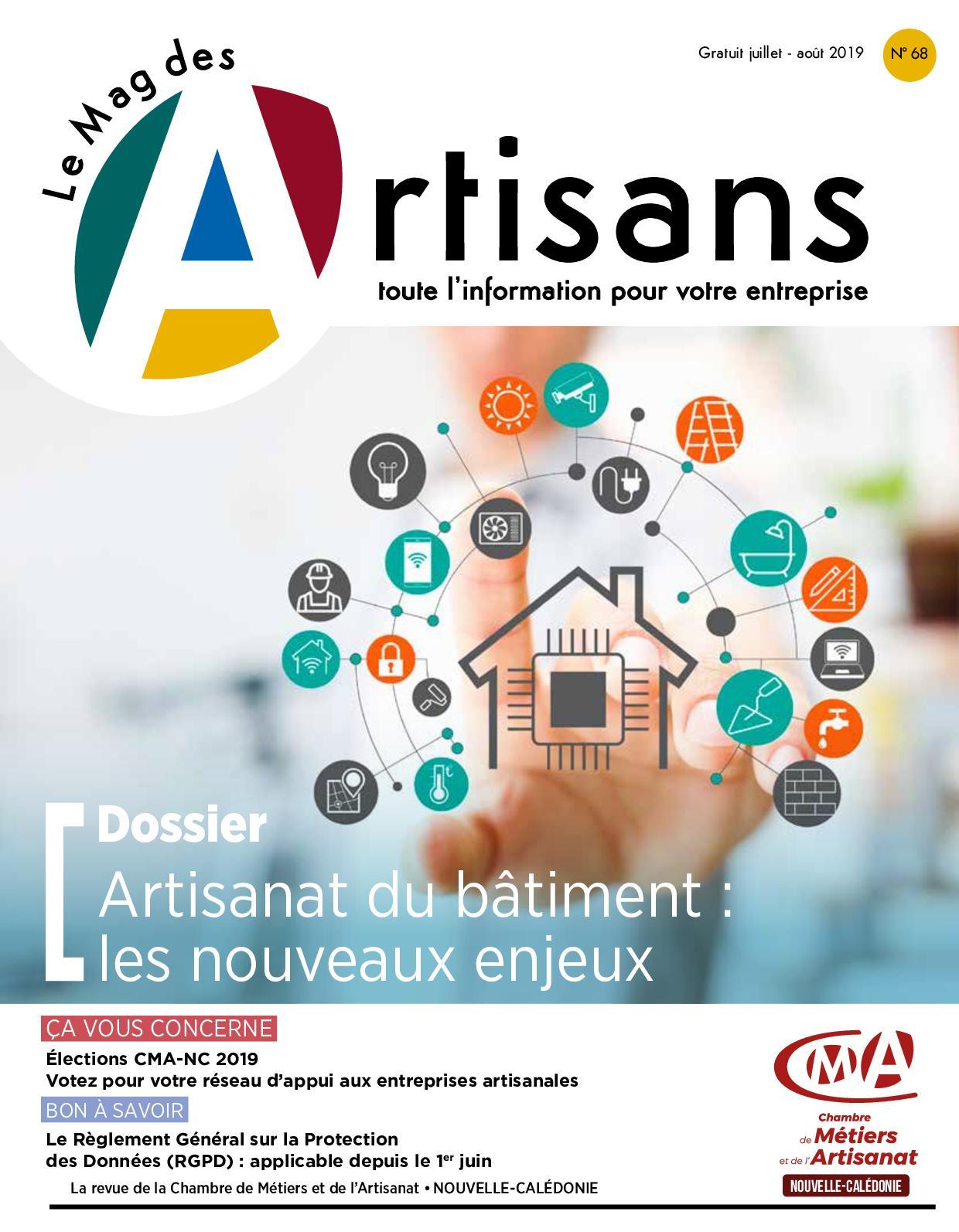 Calaméo - Mag Des Artisans 68 Artisanat Du Batiment Nouveaux ...