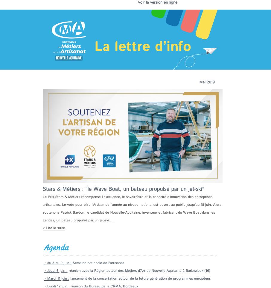 La newsletter de l'#artisanat en Nouvelle-Aquitaine vient de ...