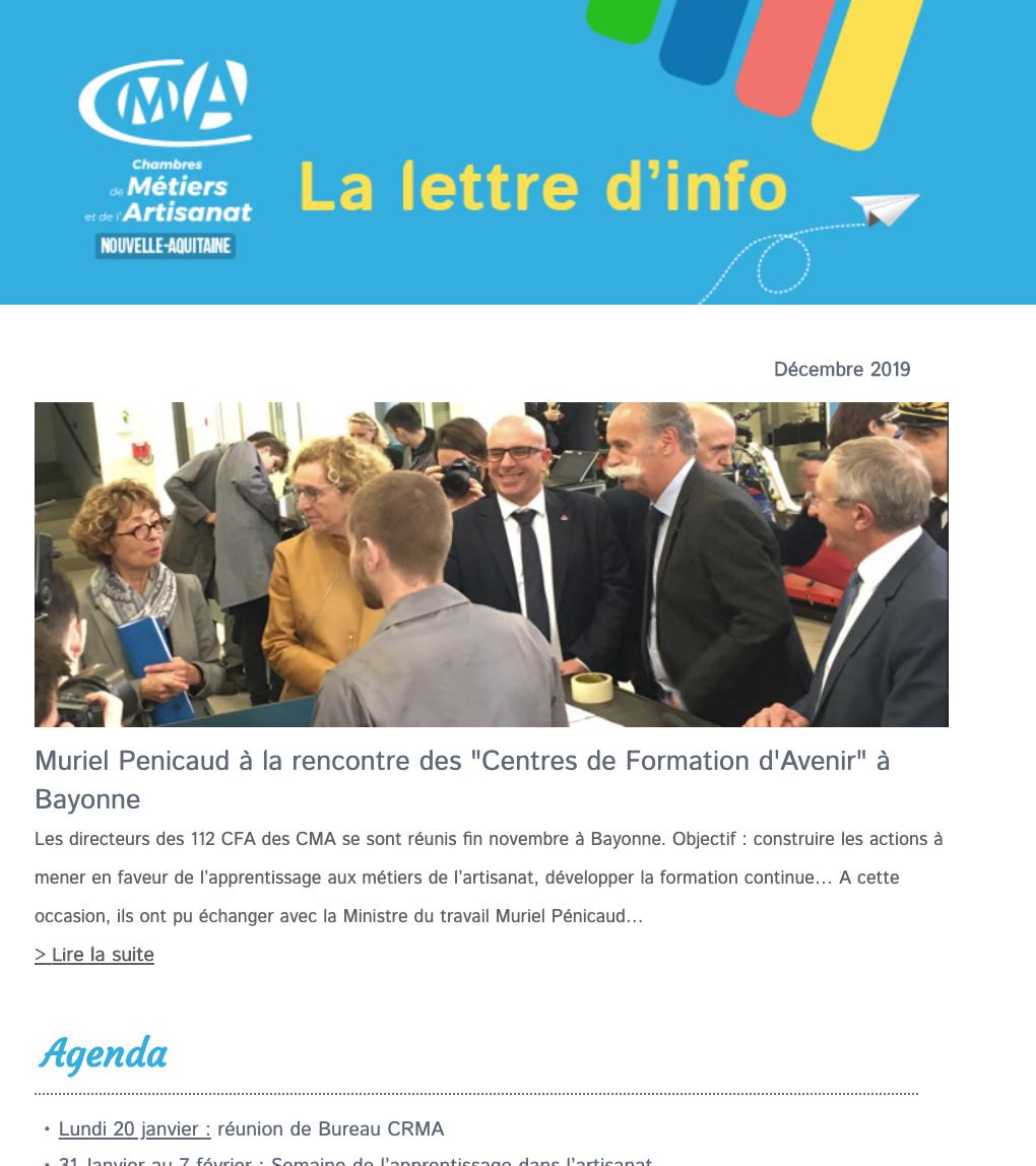 La newsletter de l'#artisanat en @NvelleAquitaine vient de ...