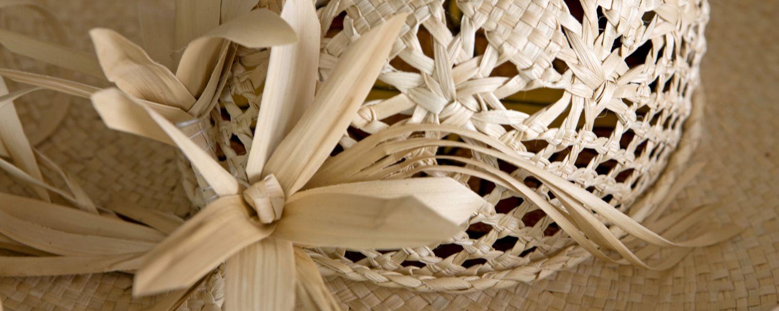Le tressage artisanal - Les îles Australes - Polynésie