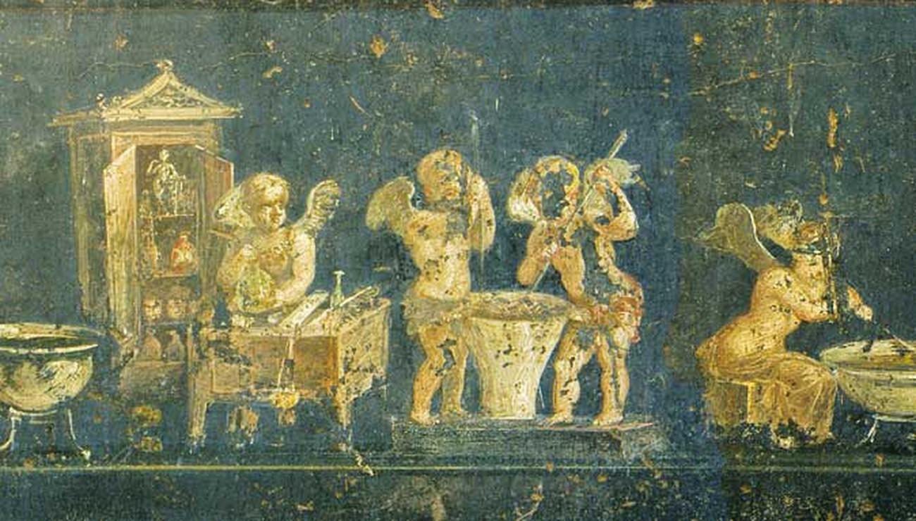 Commerçants et artisans de Pompéi | Pour la Science