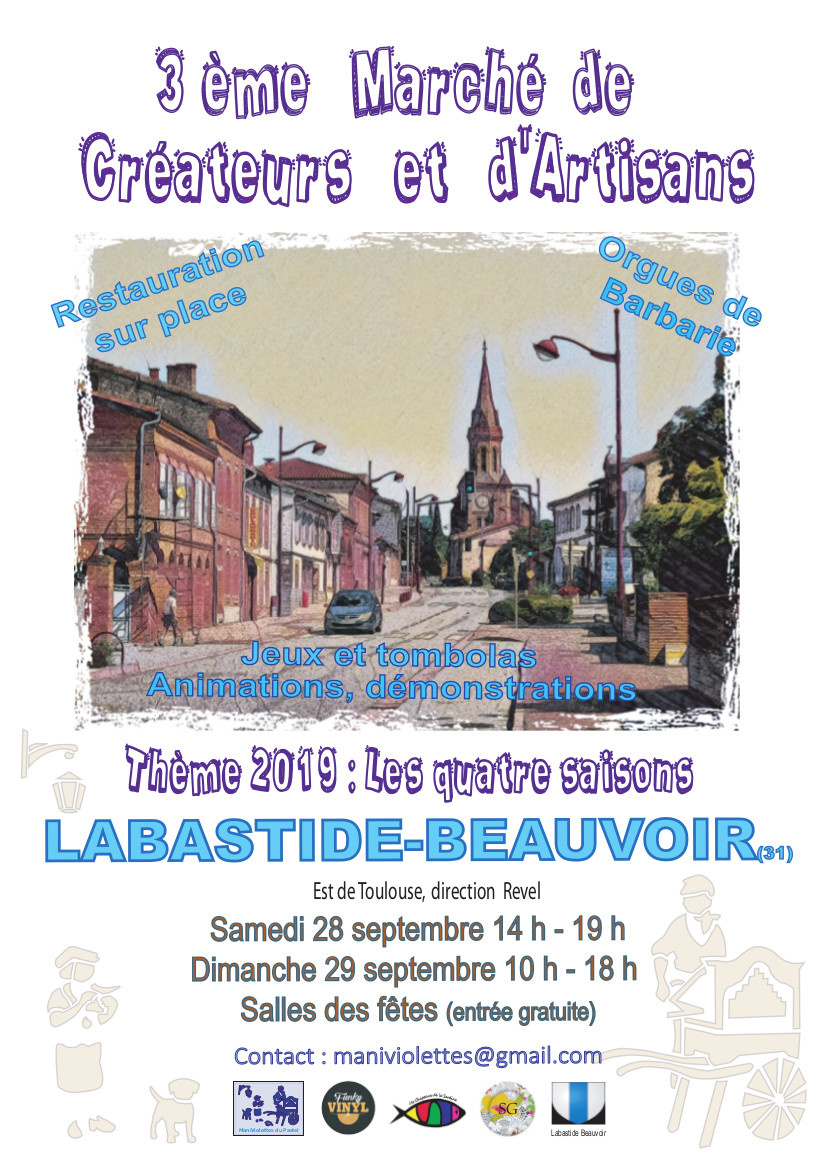 3 ème Marché des Créateurs et Artisans de Labastide Beauvoir ...
