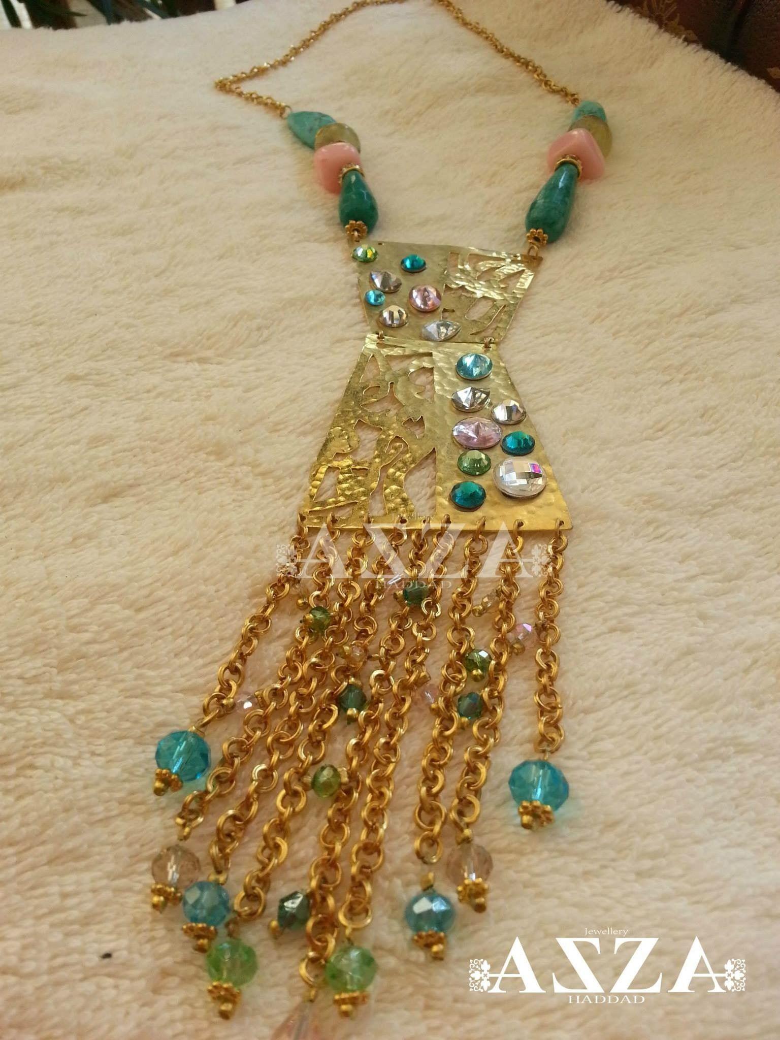 Bijou tunisien fait à la main | Idées de bijoux, Bijoux fait ...