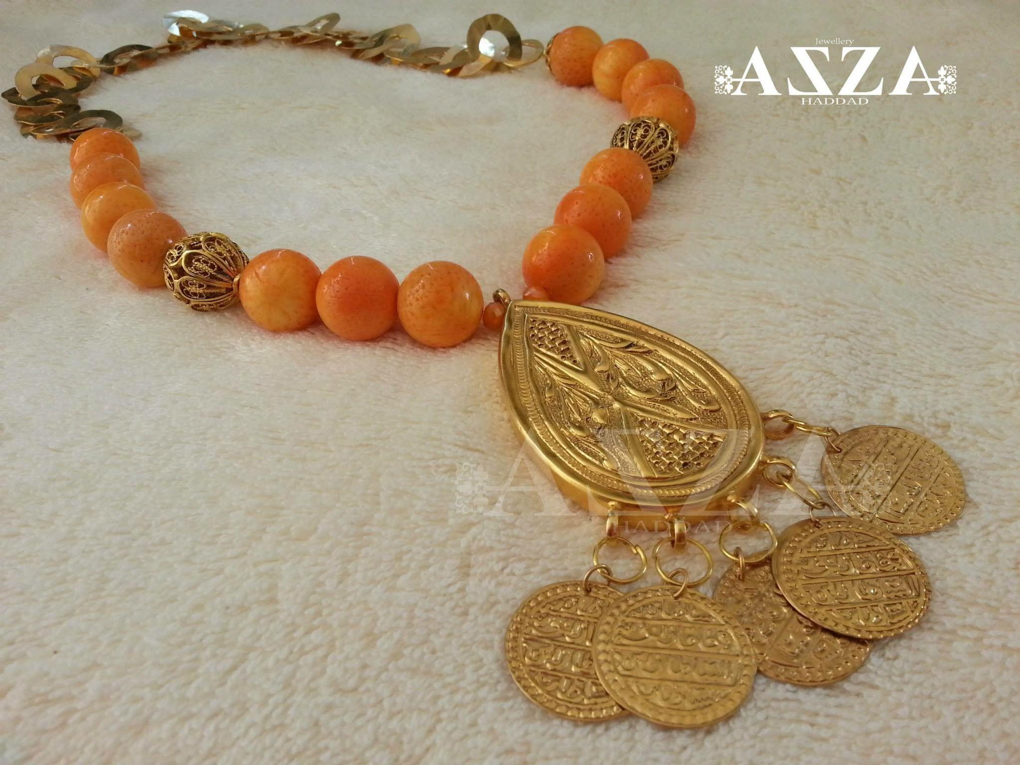 Artisanat tunisien: collier fait … | Bijoux de mariée ...