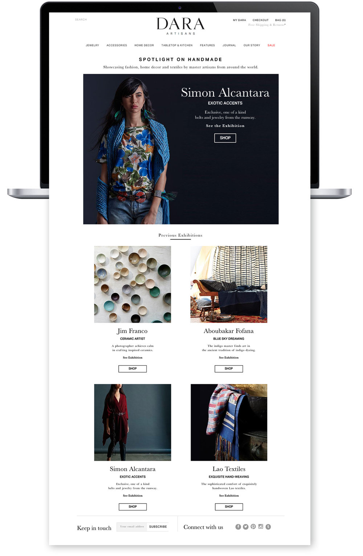 Ellen Krantz and LN.IV Studio — Dara Artisans — Web Design ...