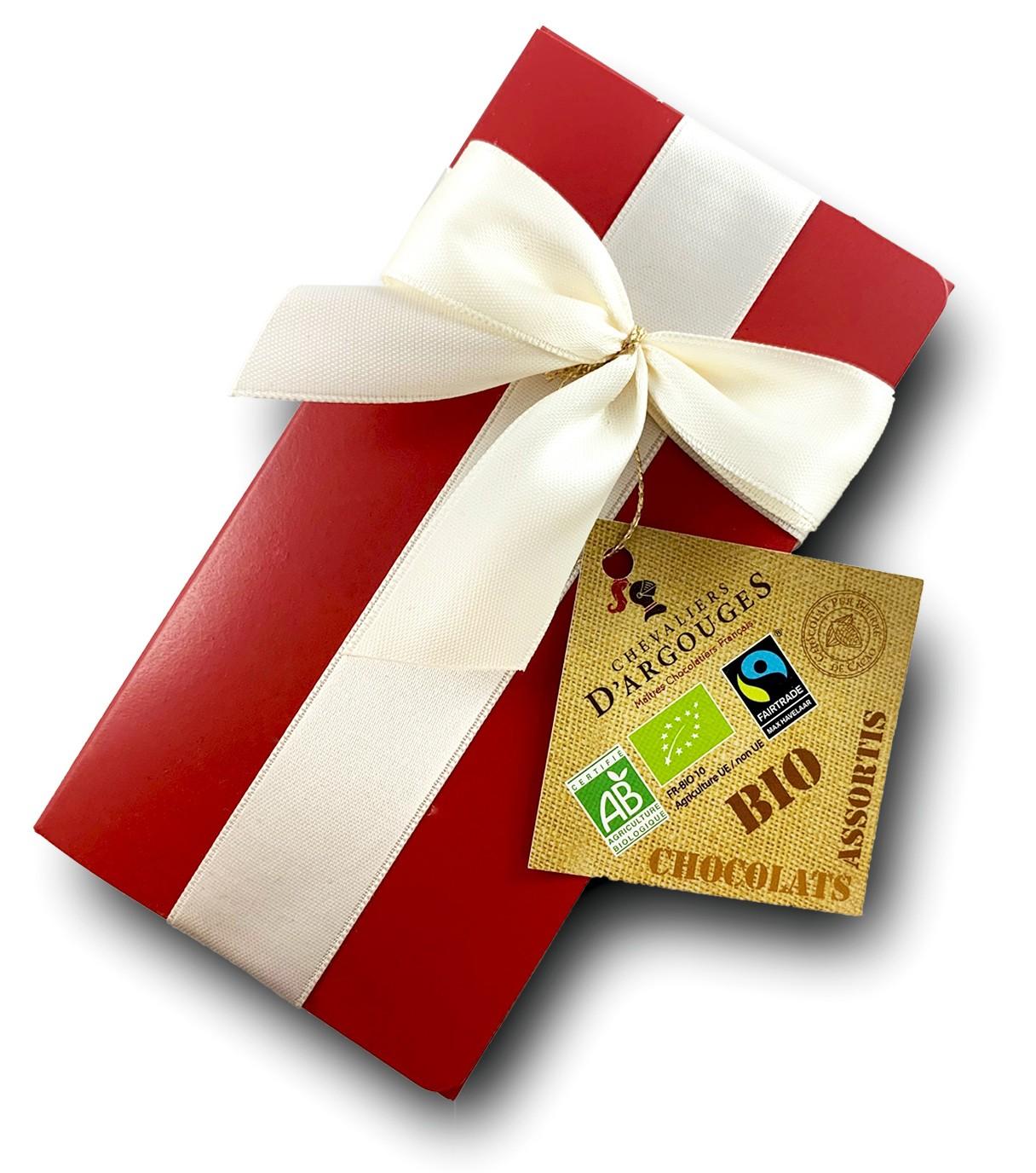Ballotin cadeau - Assortiment Chocolat Bio Max Havelaar - Chevaliers ...