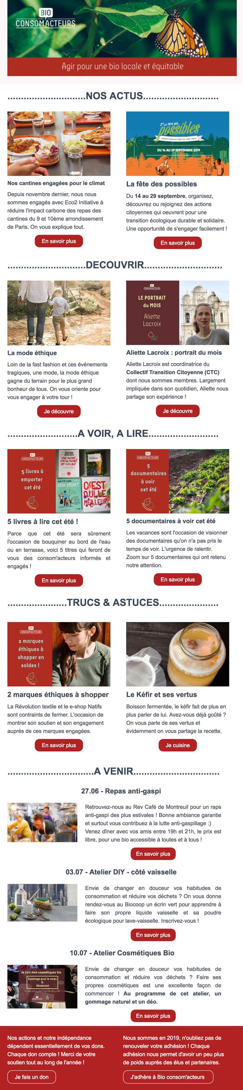 Newsletter Bio Consom'acteurs - Recevoir toute l'actualité ...