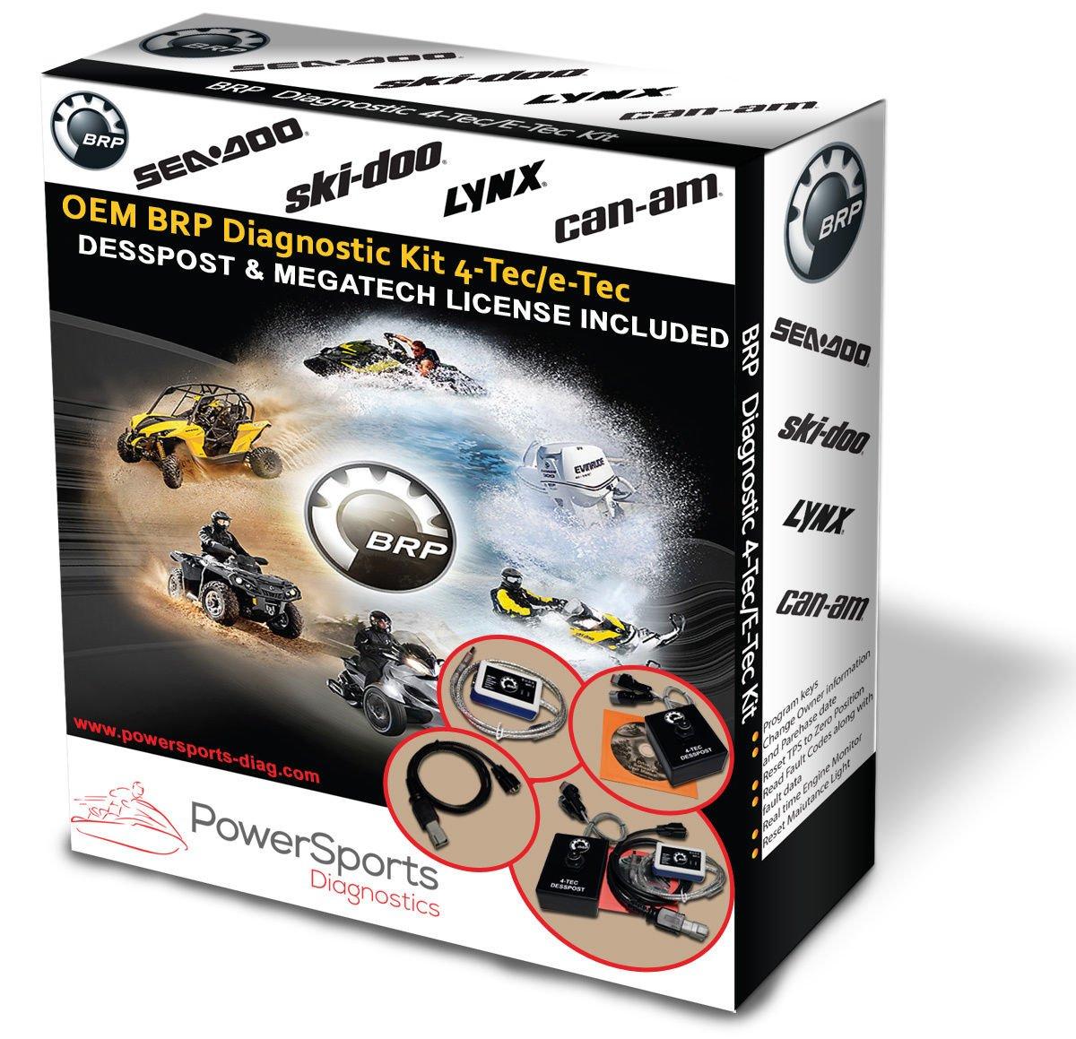 BRP BUDS / BUDS2 MPI-3 Diagnostic Kit 4TEC: Amazon.co.uk: Electronics