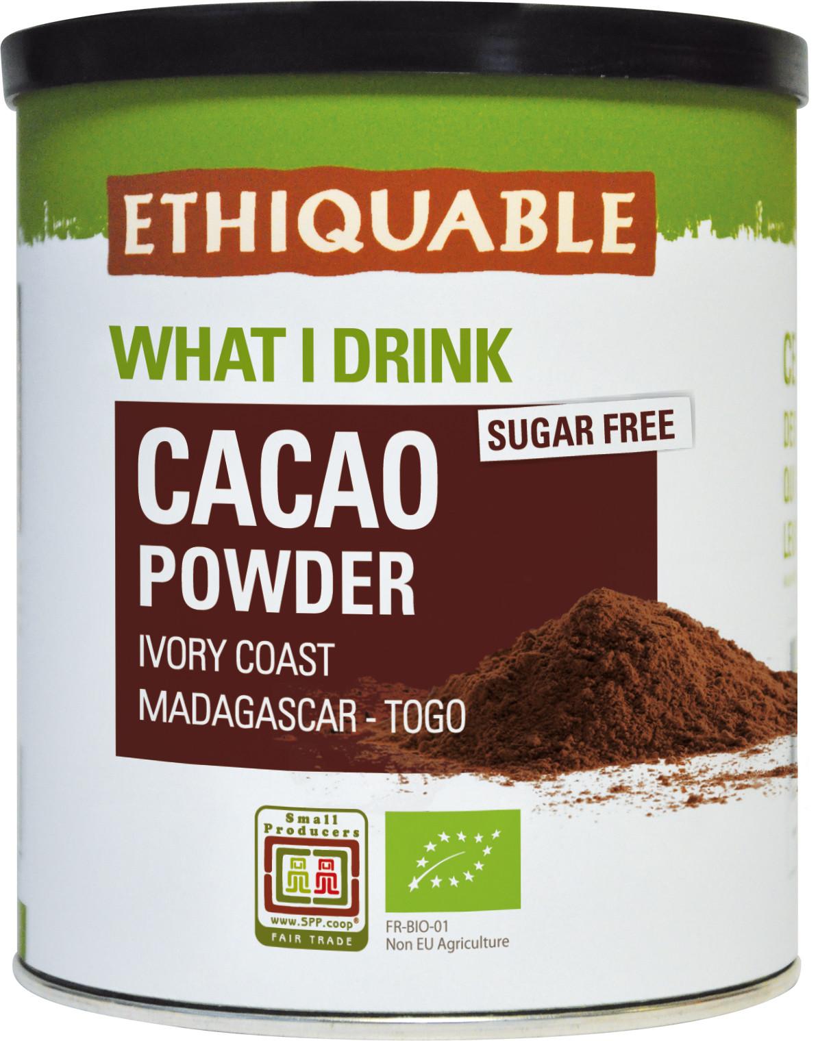 Cacao en poudre | Commerce équitable - Entreprise Coopérative Ethiquable