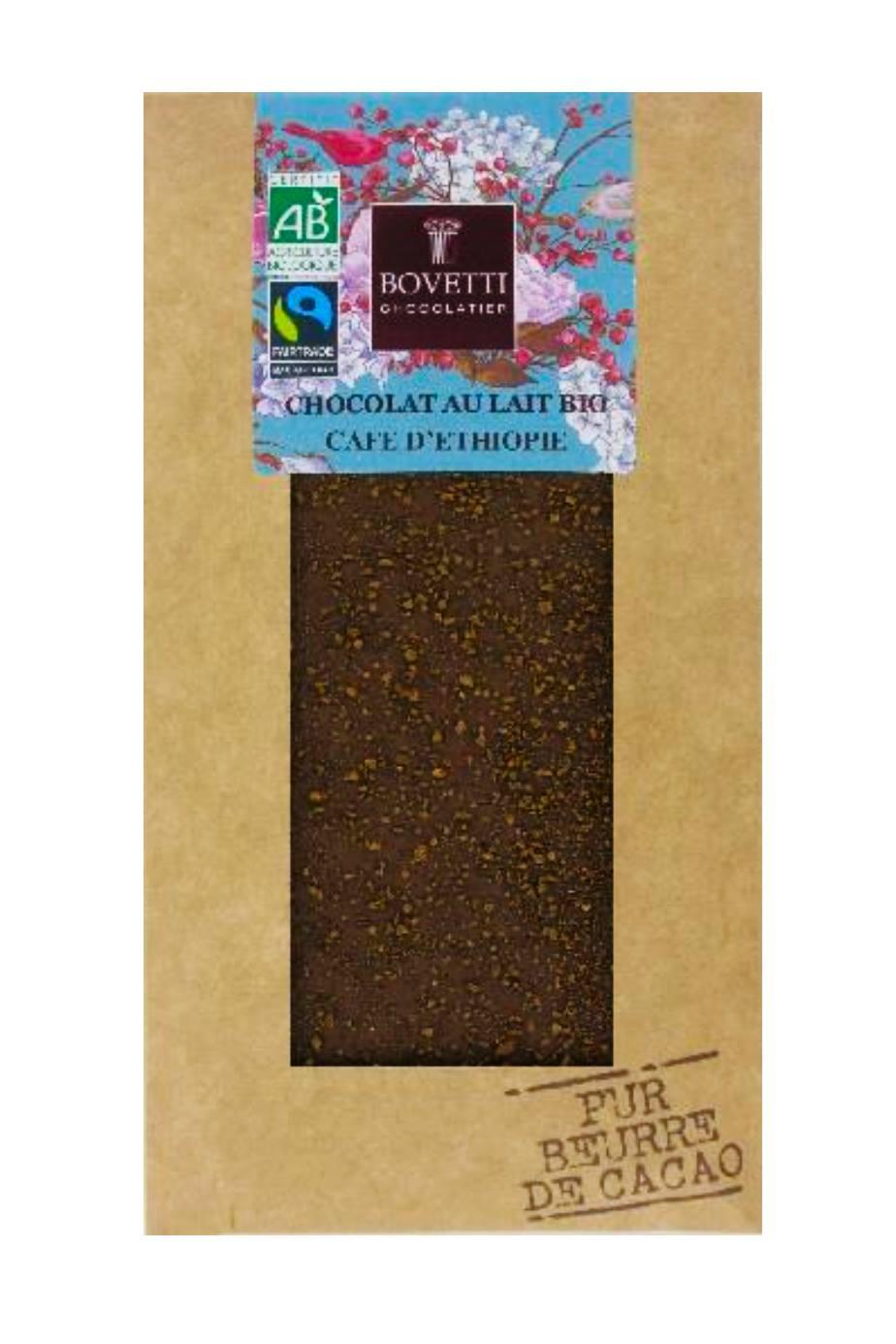 Bovetti - Chocolat au lait & café d'Ethiopie