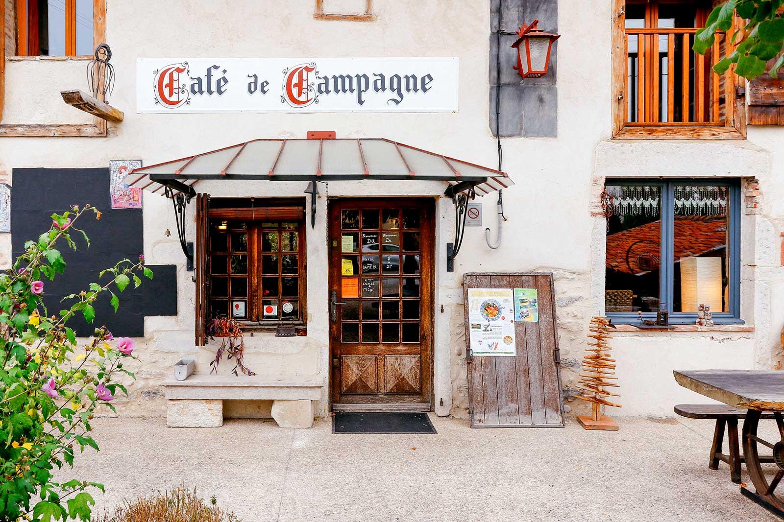 Restaurant Café de Campagne à Péronnas dans l'Ain