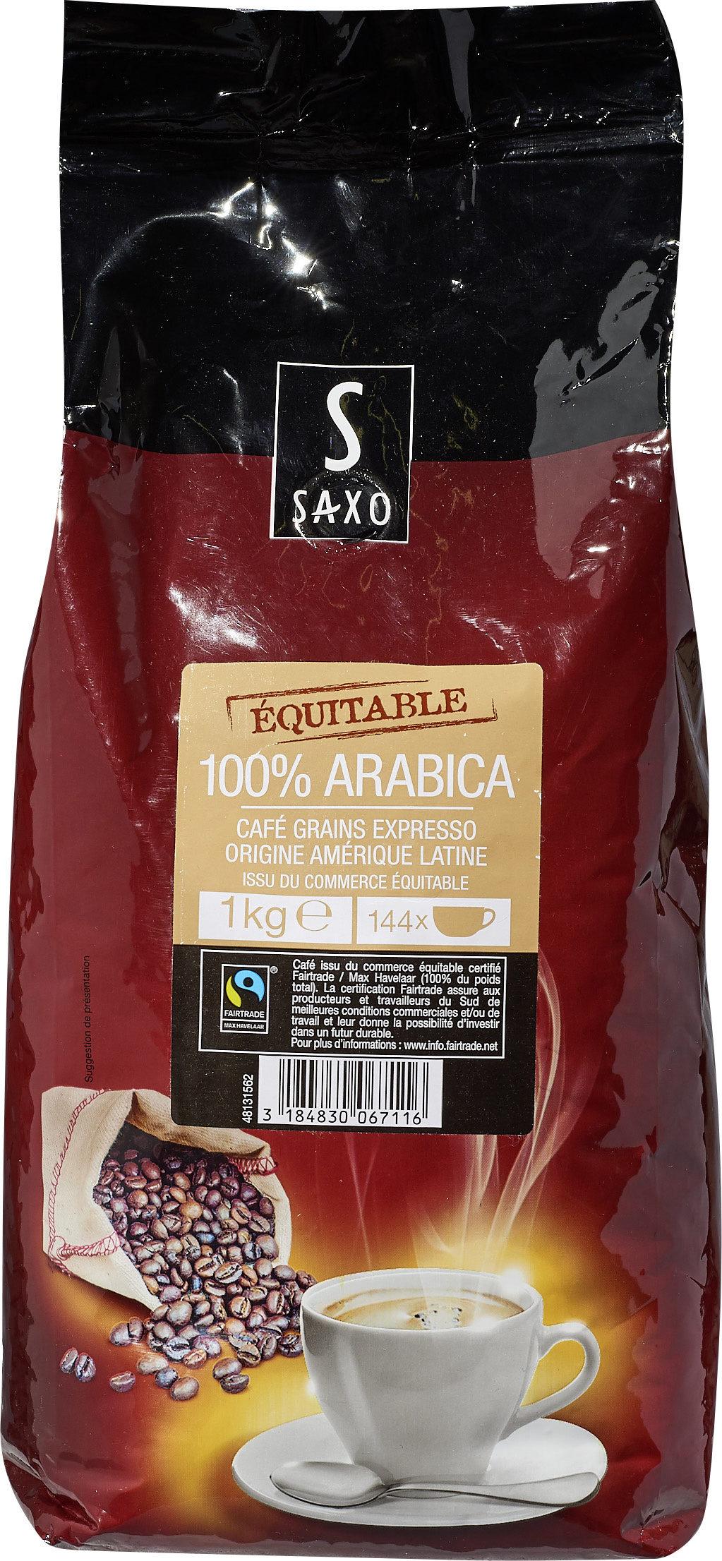 100% arabica café grains expresso origine amérique latine issu du ...