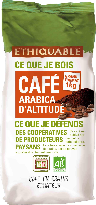 Café d'Equateur | Commerce équitable - Entreprise Coopérative Ethiquable