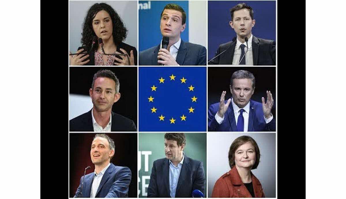 candidats élections européennes