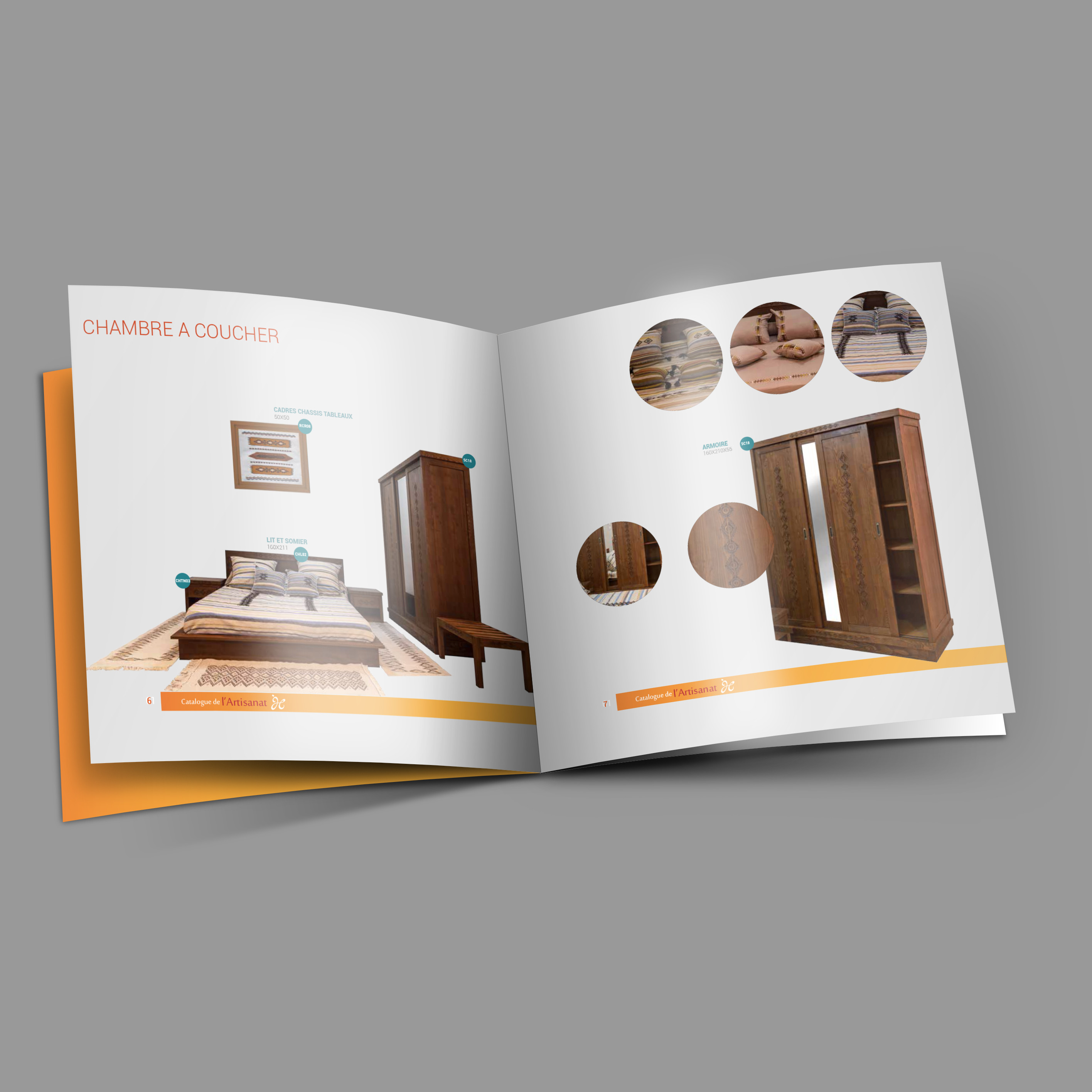 Catalogue pour la chambre de l'artisanat