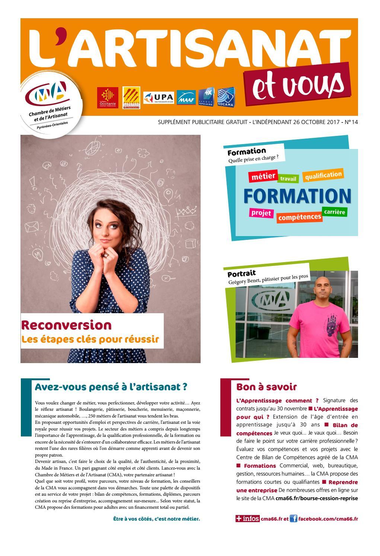 Artisanat et vous 14 by Chambre de Métiers des PO - issuu