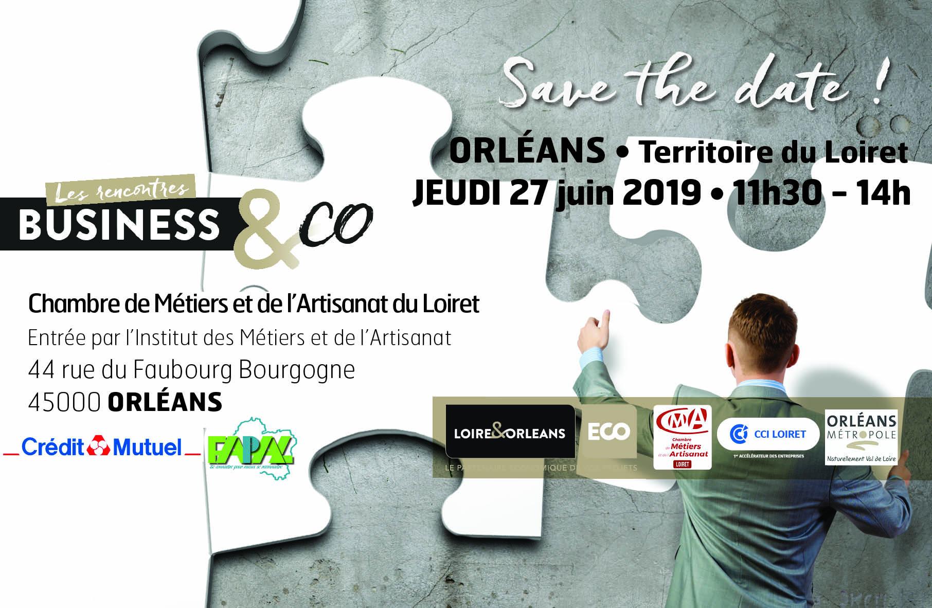 Business&Co à Orléans | LOIRE&ORLEANS Économie