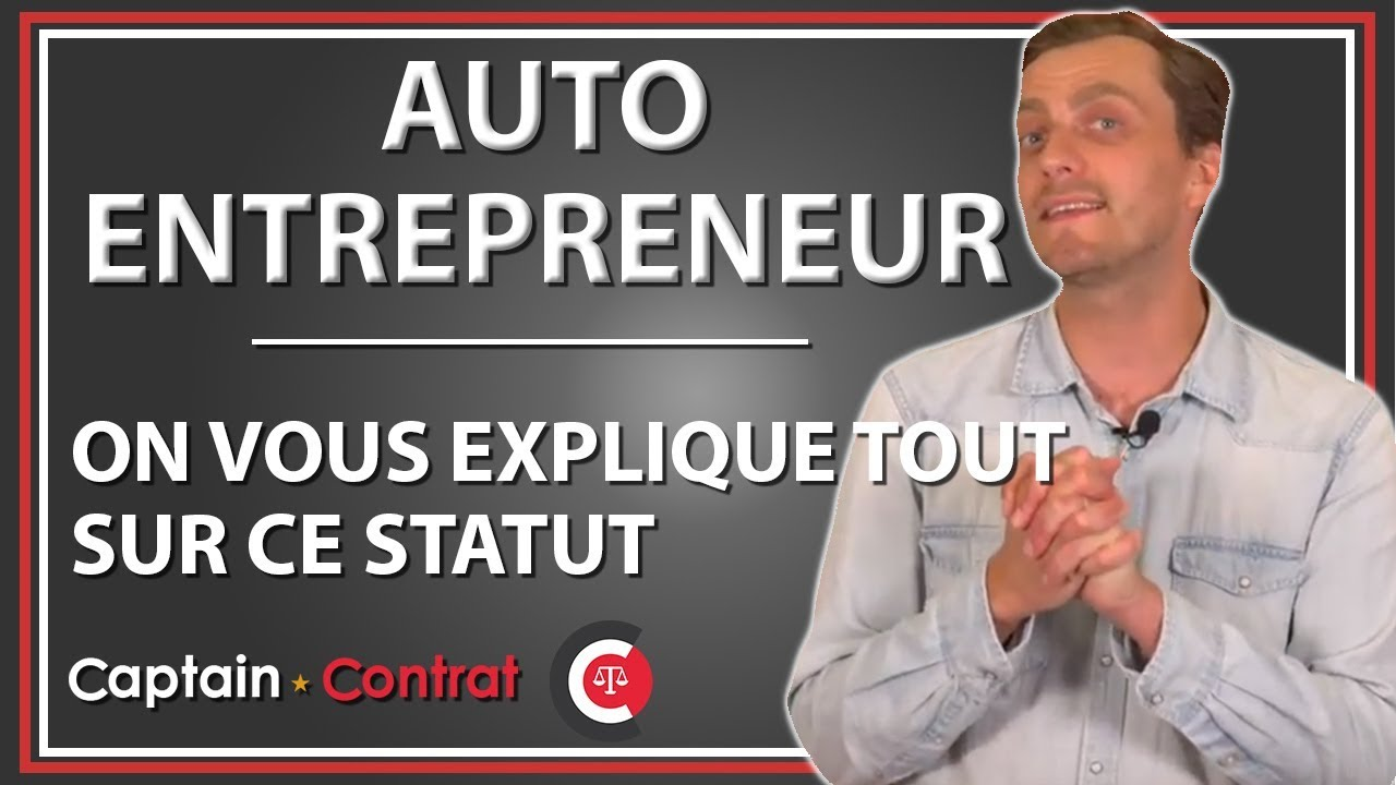 AUTO ENTREPRENEUR : la micro entreprise expliquée en 2 min