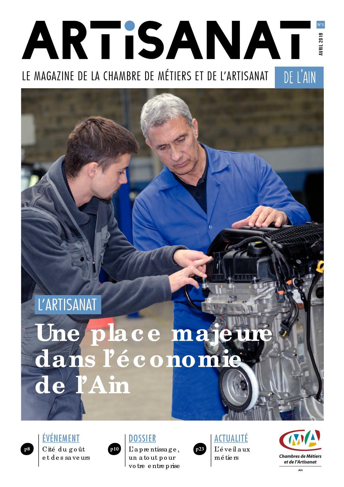 Calaméo - Artisanat, la revue de la Chambre de Métiers et de ...