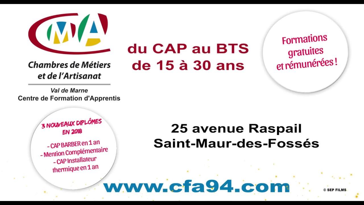 Formations proposées par le CFA du Val-de-Marne