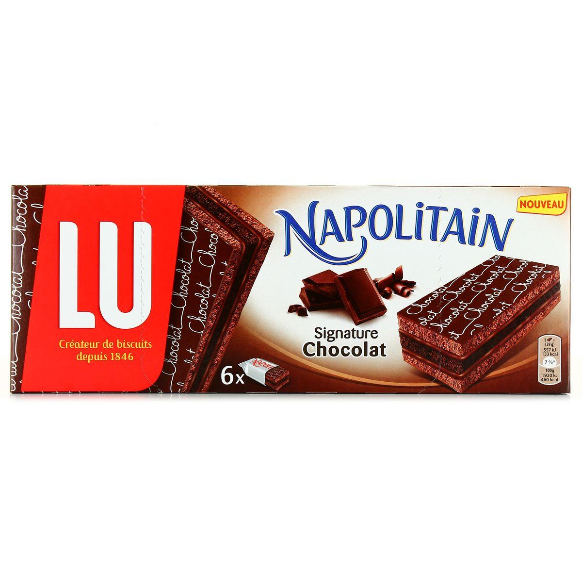 LU Napolitain choc.signature 174g – Phocéene de Distribution