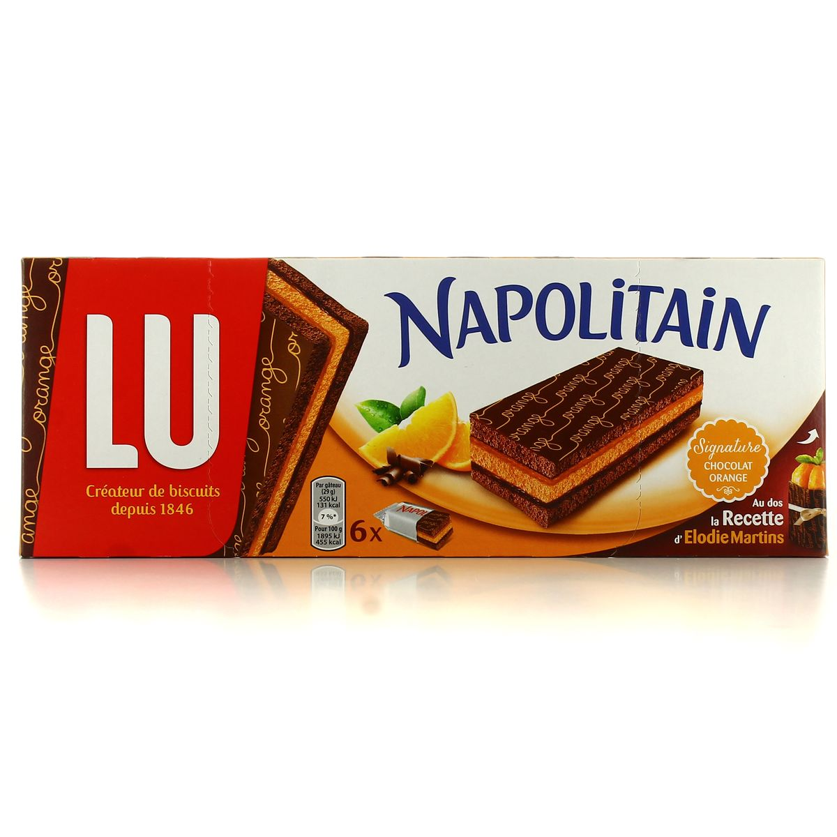 LU Napolitain sign.choco/org 174g – Phocéene de Distribution