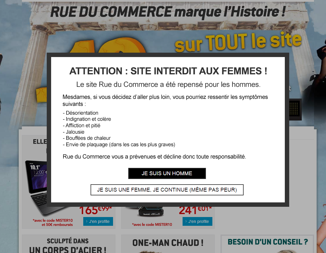 code rue du commerce 2014