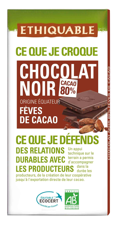 commerce équitable du chocolat