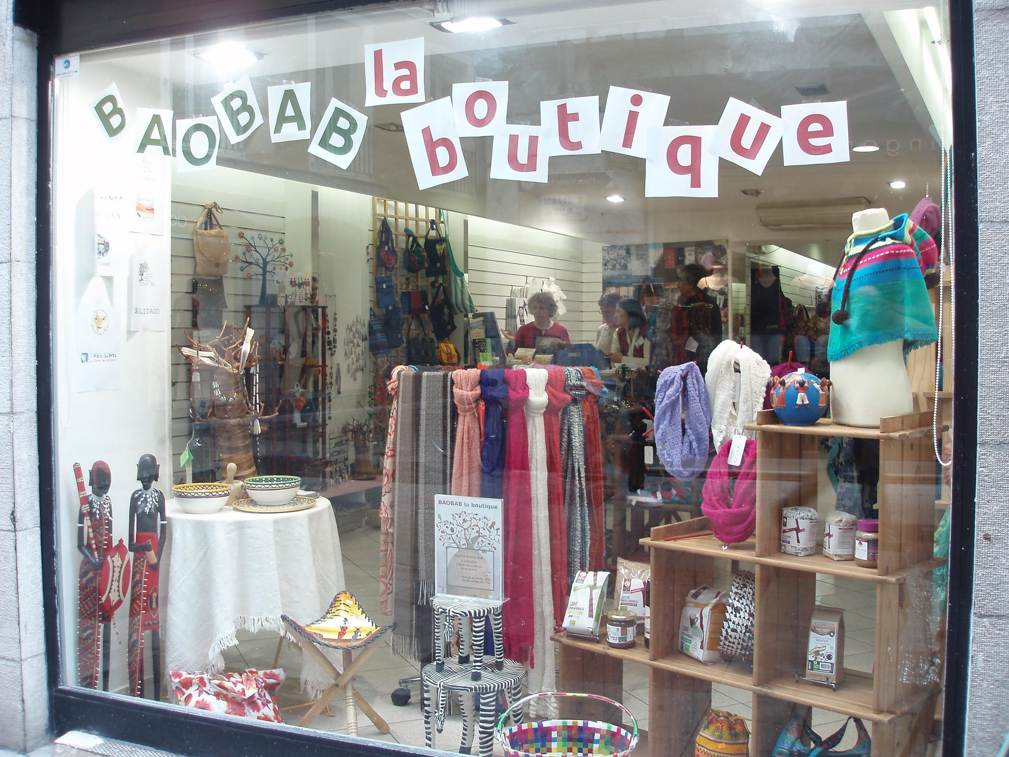 Baobab, la boutique : des produits équitables, bio et locaux ...