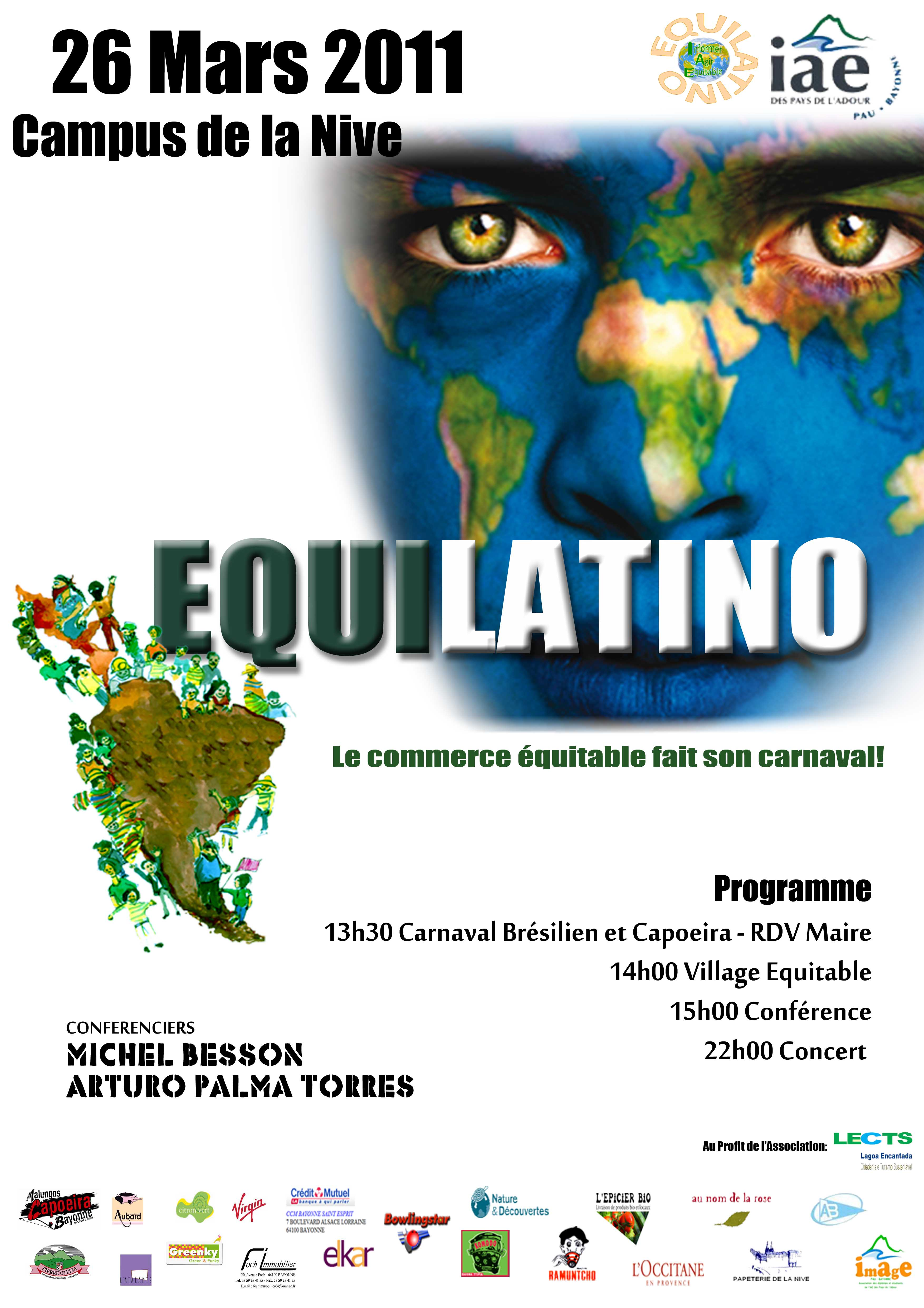 Equilatino : Informer et Agir Equitable – Samedi 26 mars 2011 | IAE ...