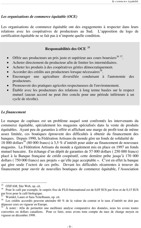 Définition Du Commerce Équitable Pdf :: mussovile.ga