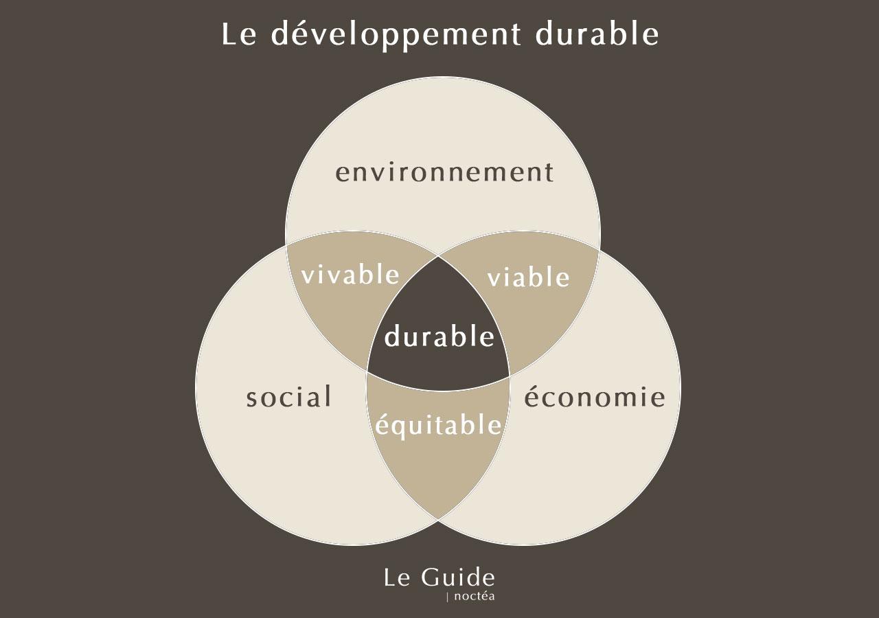 Développement durable, définition simple - Le guide Noctéa
