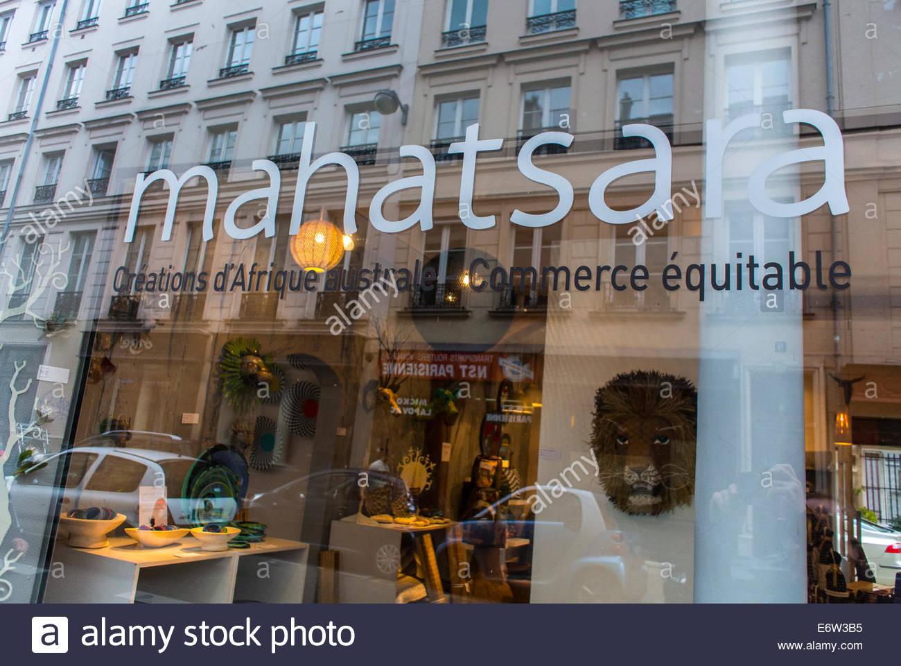 Paris, France, Shopping, Equitable Commerce, Shop Front ...