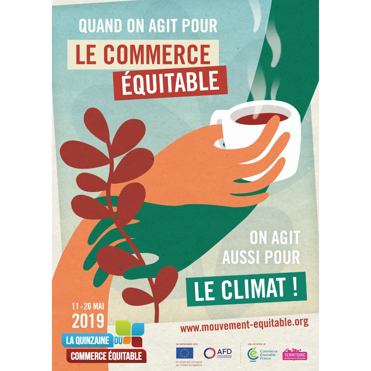 Quinzaine du commerce équitable 2019 : agir pour le climat à ...